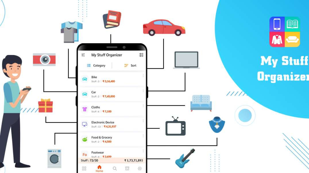 Check how to use My stuff Organizer _ Home Inventory Management Application!