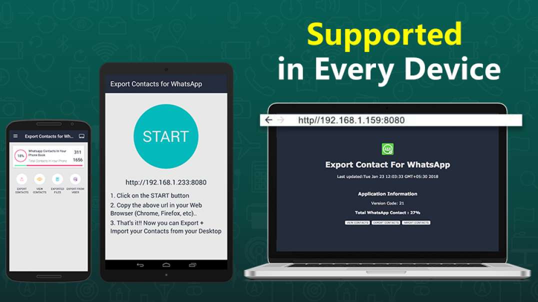 How to Gain More Conversion by Reaching the Right Audience using 'EXPORT CONTACTS for WHATSAPP?